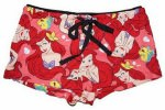 Ariel And Flounder Little Mermaid PJ Boxer Shorts