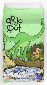 Arlo And Spot Duvet Cover