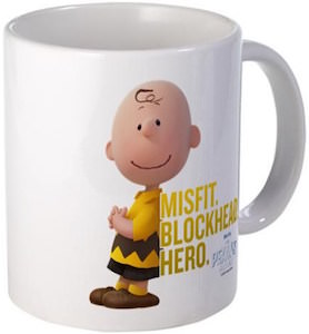 Charlie Brown Blockhead Mug