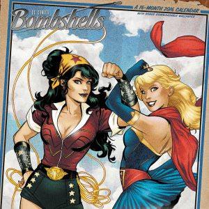 DC Comics Bombshells 2016 Wall Calendar