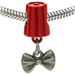 Doctor Who Bow Tie And Fez Charm Bead