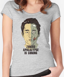 Glenn Zombie Apocalypse Is Coming T-Shirt
