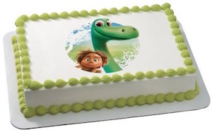 The Good Dinosaur Edible Cake Topper Image
