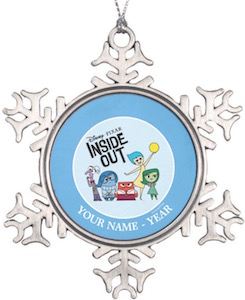 Inside Out Personalized Emotions Ornament