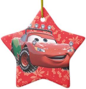 Lightning McQueen Christmas Ornament