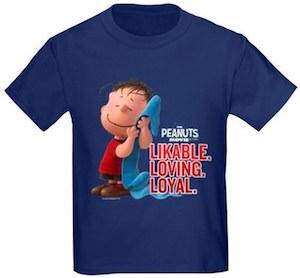 Likable Loving Loyal Linus Kids T-Shirt