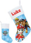 Paw Patrol Personalized Christmas Stocking