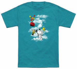 Peanuts Up Up And Away T-Shirt