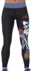 Snow White Skeleton Leggings