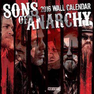 2016 Sons Of Anarchy Wall Calendar