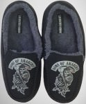 Sons Of Anarchy Reaper Logo Moccasin Slippers