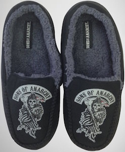 Sons Of Anarchy Moccasin Slippers