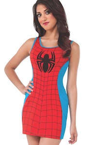 Spider-Man Costume Tank Top Dress