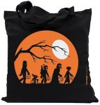 Star Wars Halloween Death Star Tote Bag