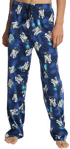 Star Wars Blue R2-D2 Lounge Pants