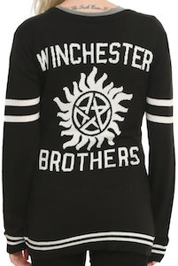 Supernatural Winchester Brothers Women's Cardigan