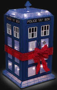 Tardis Light Up Lawn Ornament