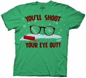The Christmas Story Shoot Your Eye T-Shirt