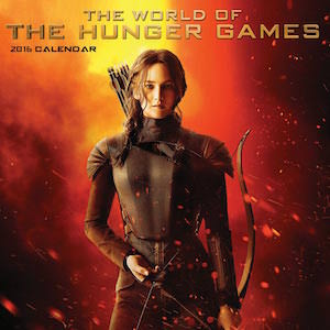 The World Of The Hunger Games Wall Calendar 2016