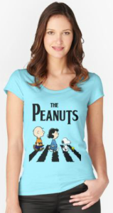 The Peanuts Beatles Women's T-Shirt