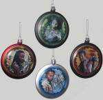 The Walking Dead Christmas Tree Ornament Set