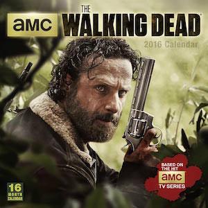 2016 The Walking Dead Wall Calendar