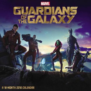 2016 Marvel Guardians of the Galaxy Wall Calendar