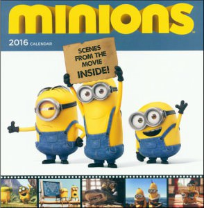 2016 Minion Movie Wall Calendar