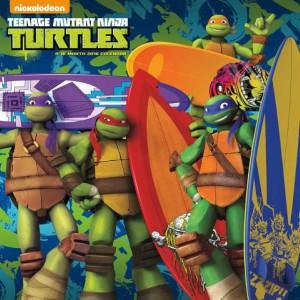 2016 Teenage Mutant Ninja Turtles Calendar