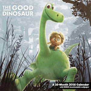 The Good Dinosaur 2016 Wall Calendar