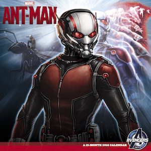 Marvel Ant-Man 2016 Wall Calendar