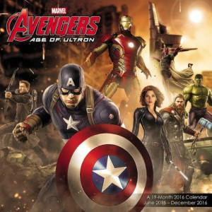 Avengers Age Of Ultron Wall Calendar 2016