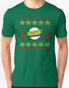 Bazinga Christmas T-Shirt