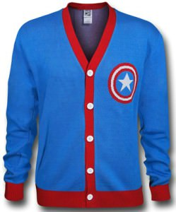 Captain America Classic Shield Cardigan