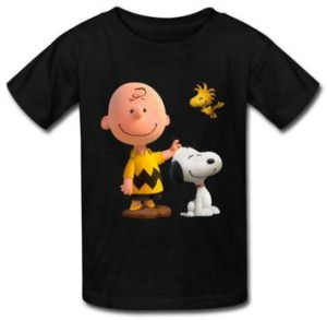 Kids Charlie Brown, Snoopy And Woodstock T-Shirt