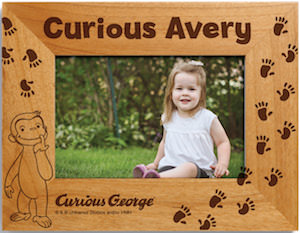 Curious George Personalized Picture Frame