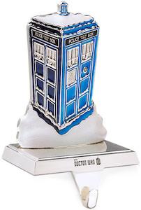 Doctor Who Tardis Stocking Holder