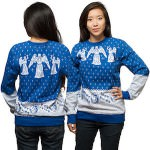 Dr Who Weeping Angel Christmas Sweater