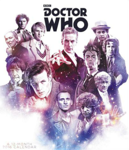 Doctor Who 2016 Special Edition Poster Wall Calendar