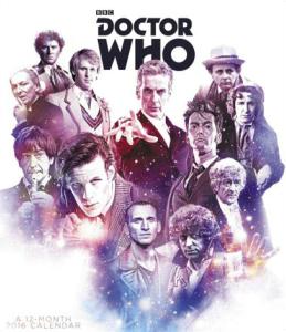 Doctor Who 2016 Poster Wall Calendar