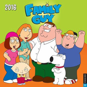 Family Guy 2016 Wall Calendar