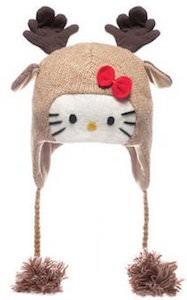 Hello Kitty Moose Laplander Hat