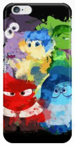 Inside Out Paint Splatter iPhone Case