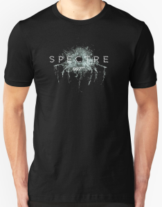 James Bond Spectre Bullet Hole T-Shirt