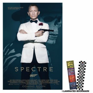 James Bond Spectre Movie Poster And Bookmark