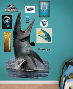 Jurassic World Mosasaurus Wall Decal Set