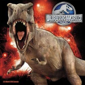 Jurassic World Wall Calendar 2016