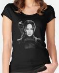 The Hunger Games Katniss Everdeen Portrait T-Shirt