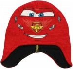 Lightning McQueen Face Beanie Hat
