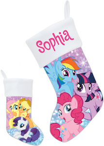 My Little Pony Personalized Christmas Stocking